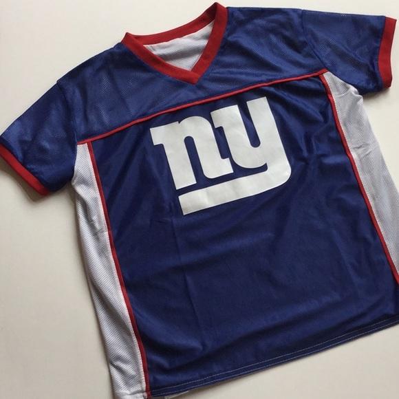 78ecea6a3f0 NFL Shirts & Tops | Kids Ny Giants Flag Football Jersey Youth Xl ...